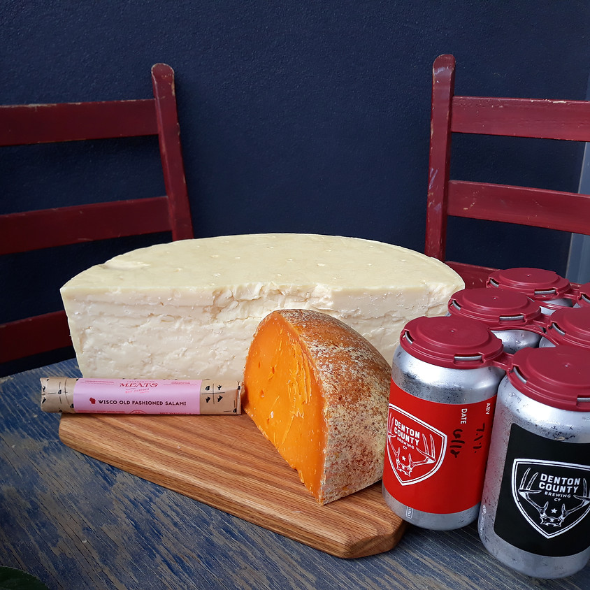 Beer, Cheese, and Charcuterie Delivery 6/20