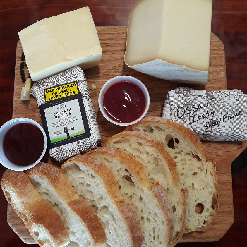 Bread and Cheese Delivery 8/5