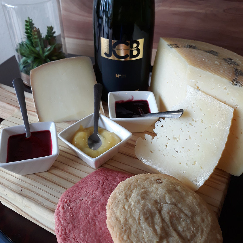 Easter Weekend Sparkling Wine and Cheese Set