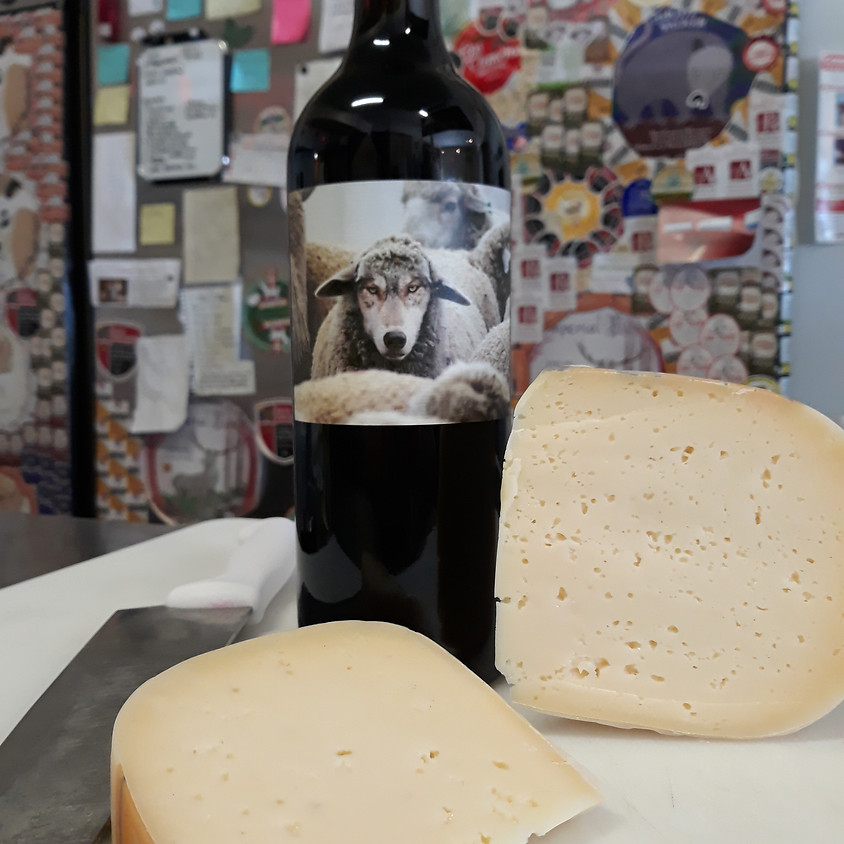 Thursday Wine and Cheese Delivery 2/25
