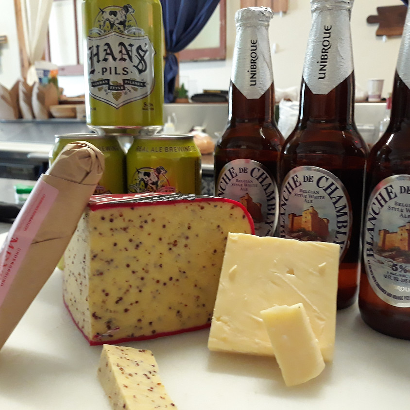 Beer, Cheese, and Charcuterie Delivery 7/3