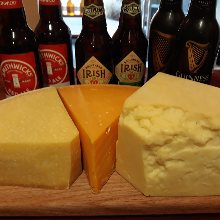 St. Patrick's Day Beer and Cheese Pairing