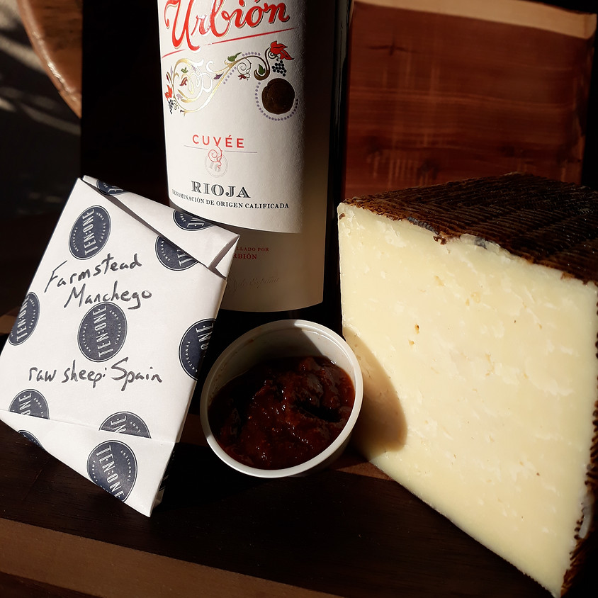 Friday Wine and Cheese Delivery 1/29