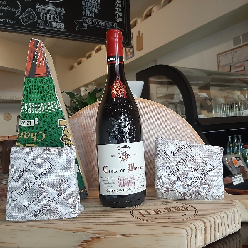 Cheese and Wine Delivery! Friday 4/10