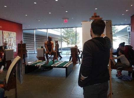 CMA's Michelangelo Exhibit: Sketch your heart out.