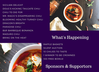 Chili Cook Off Announcement!