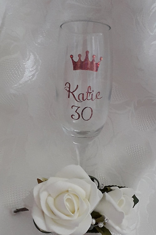 Personalised Celebration Glass