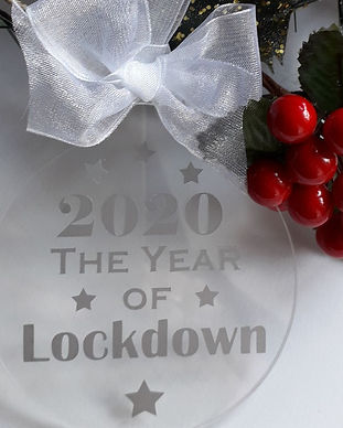 Lockdown 2020 keepsake