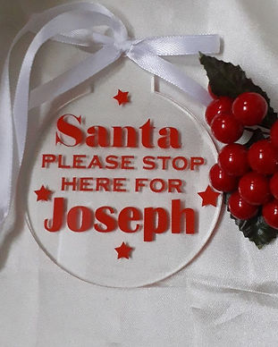 Personalised Decoration