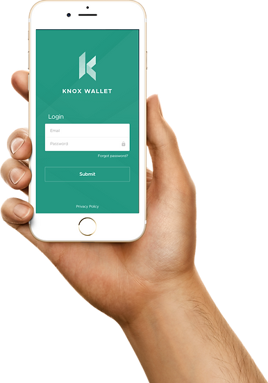 Knox Wallet mobile app