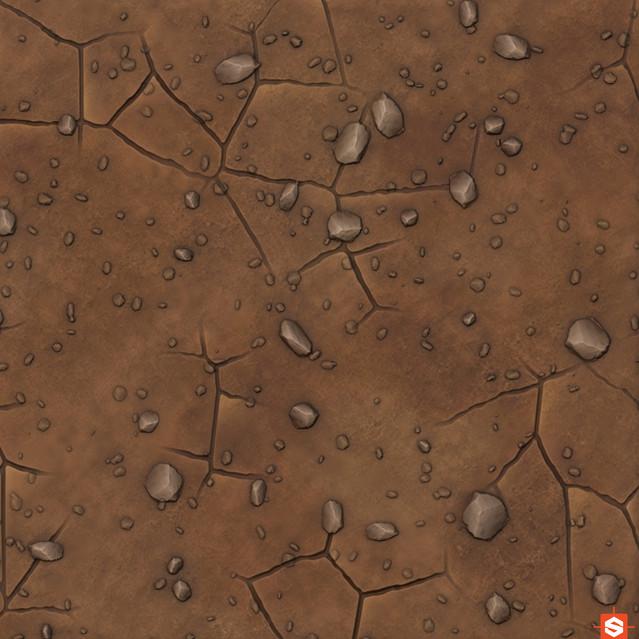 Floor procedural texture