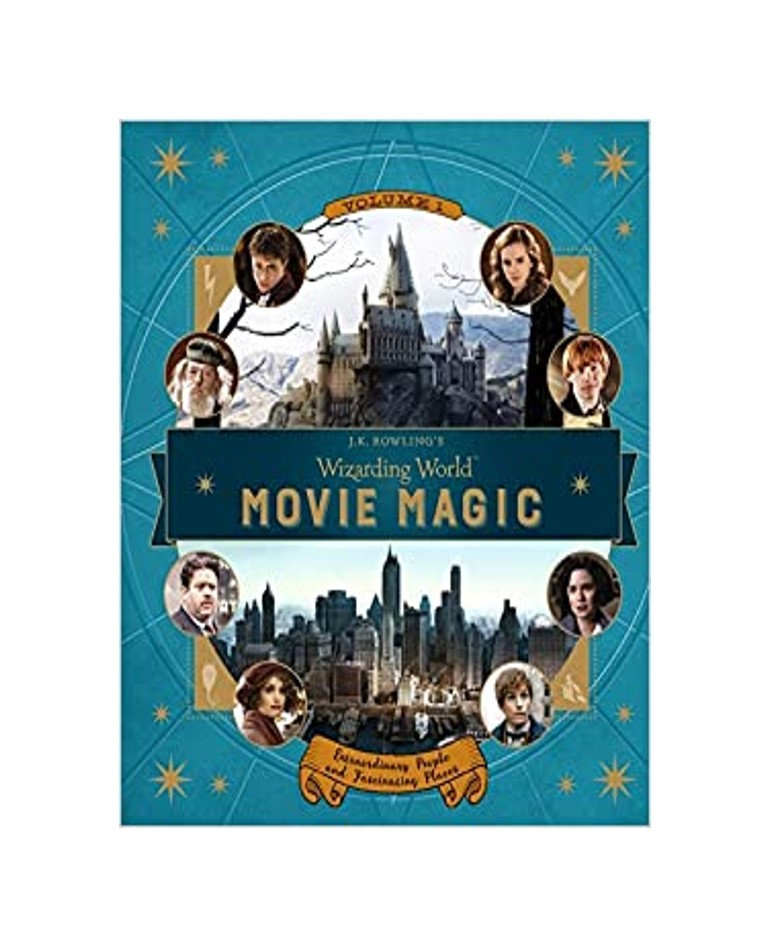 J.K. Rowling's wizarding world : movie magic : extraordinary people and fascinating places by Jody Revenson