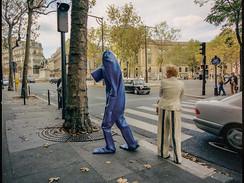 BLUEMAN IN PARIS