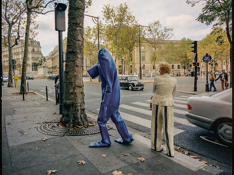 BLUEMAN IN PARIS