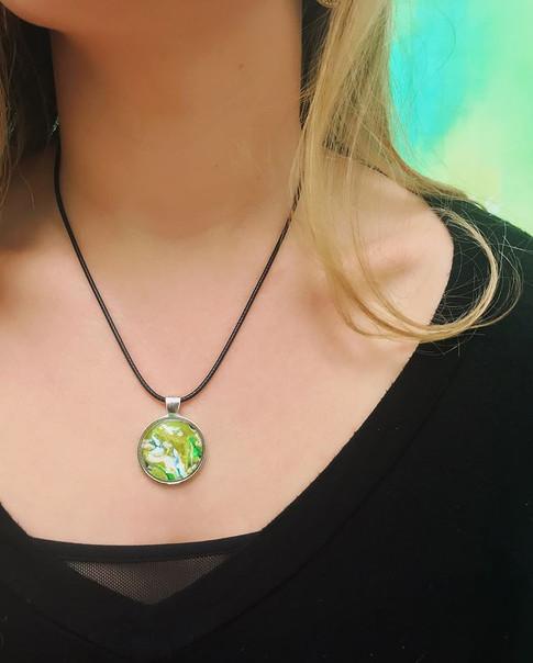 Recycled Jewelry Pendant