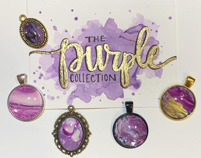 The Purple Pendant Collection