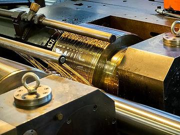 Gradel Baudin rolled lead screws