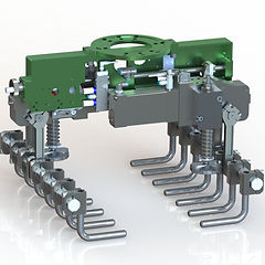 Applied Robotics Pneumatic Grippers Palletizing Bag & Box Grippers Self-centering work-holding vises end effectors