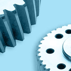 Gambini Meccanica Rack and Pinion Helical Straight Gearwheels splined