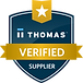 Hexelus ThomasNet Verified Badge