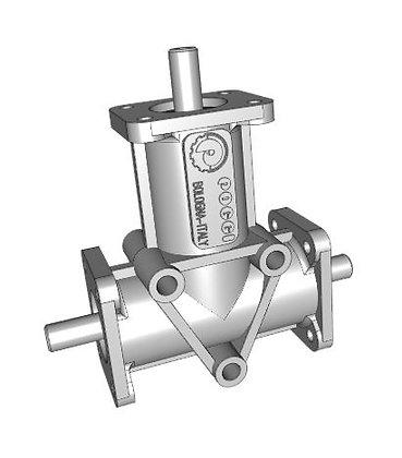 Poggi P184008121 Right-angle  gearbox