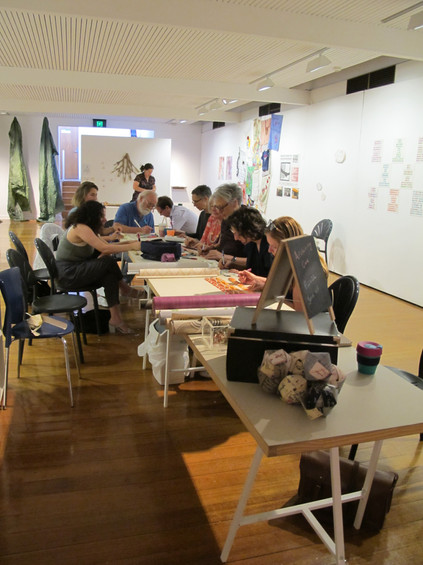 Archiving Care participatory workshop led by Caroline Phillips and Claire Field
