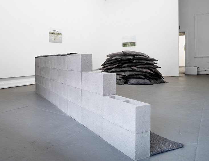 Installation view at SEVENTH Gallery // Photograph by Catherine Evans