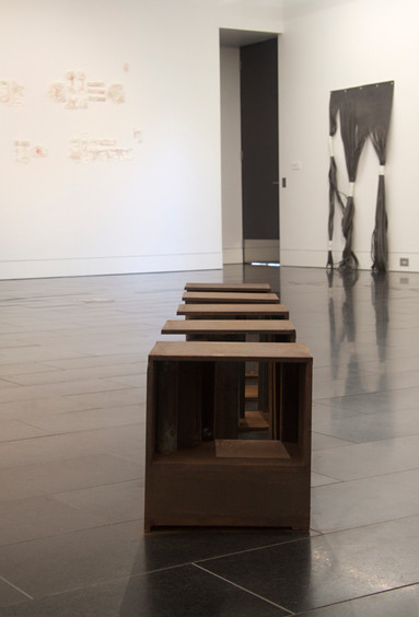 Installation view of Interior Architecture // Photograph by Clare Rae