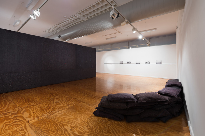 'Bird, Hide and Bunker' (2013) installation view // Photograph by Catherine Evans