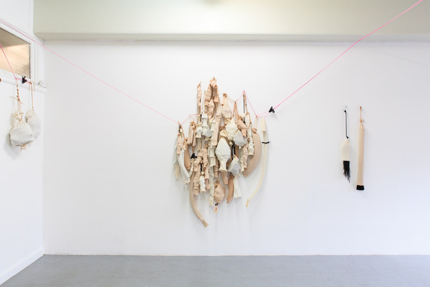 Installation view of 'Dysfunction' (2013) // Photograph by Alison Fairley