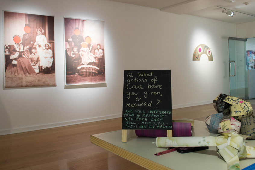 Archiving Care participatory workshop held at 2019 symposium 'CARE: Transforming values through art, ethics and feminism'