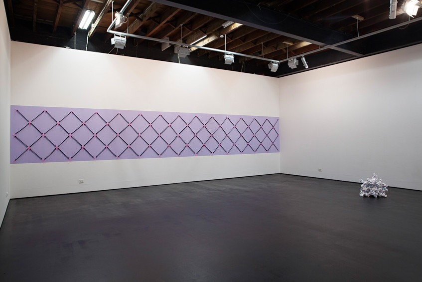 Installation view, all artworks by Caroline Phillips // Photograph by Clare Rae