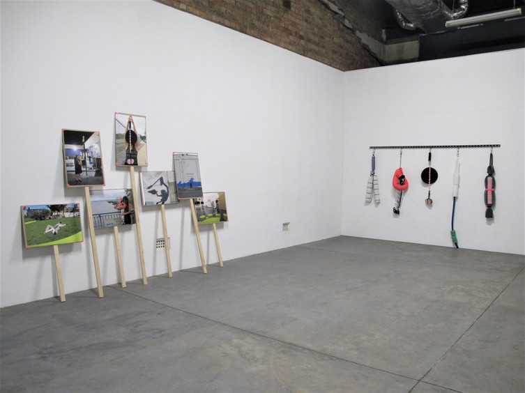 there's something happening here… extended remix (2018) // Installation view at Boxcopy, Brisbane