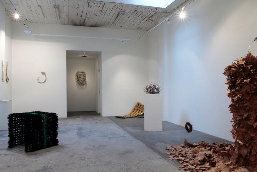 Installation view at Red Gallery // Photograph courtesy of Craft Cubed