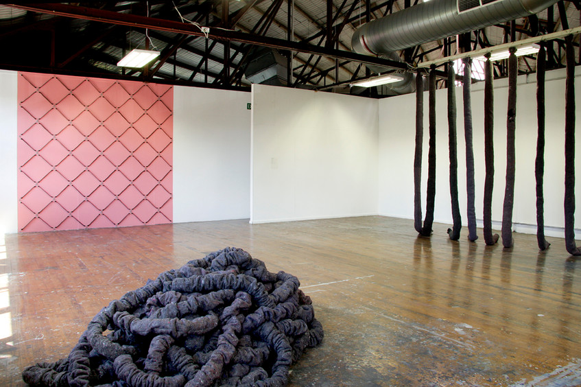 Master's Exhibition (2011) at Victorian College of the Arts, installation view // Photograph by Victoria Bennett