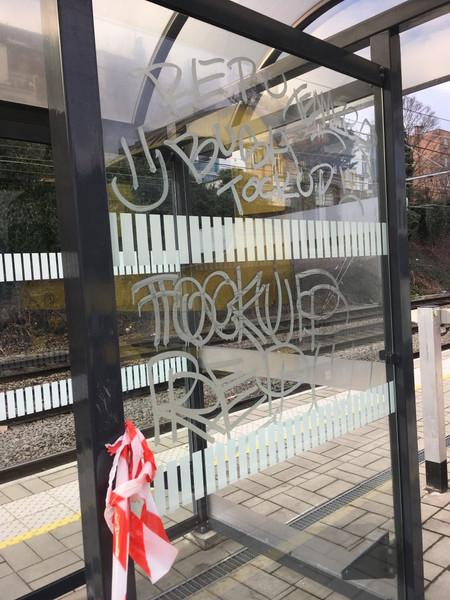 vandalisme door zuurtags