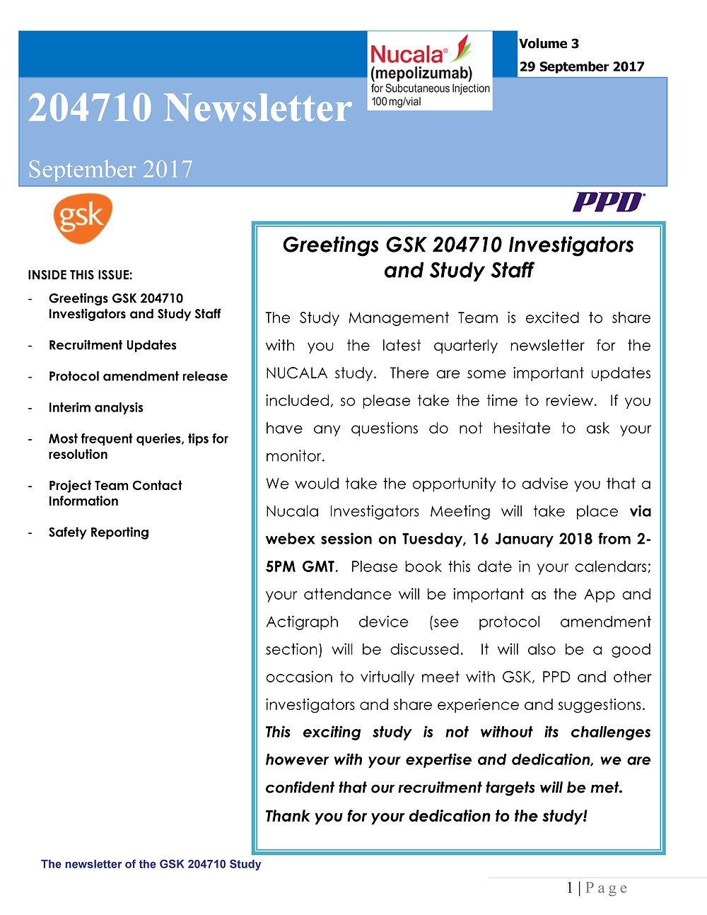 GSK nucala newsletter September 2017