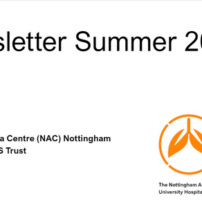 Summer 2020 Asthma Newsletter Including Synairgen COVID-19 drug Trial success and Patient Story