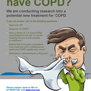 Research into a potential new treatment for COPD