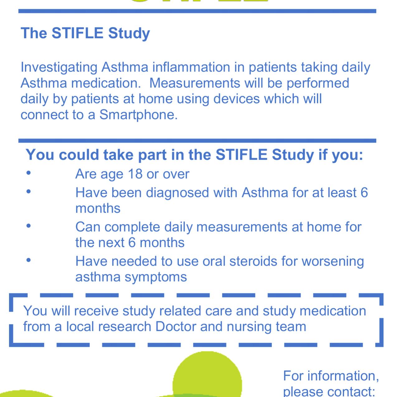 STIFLE Asthma Study