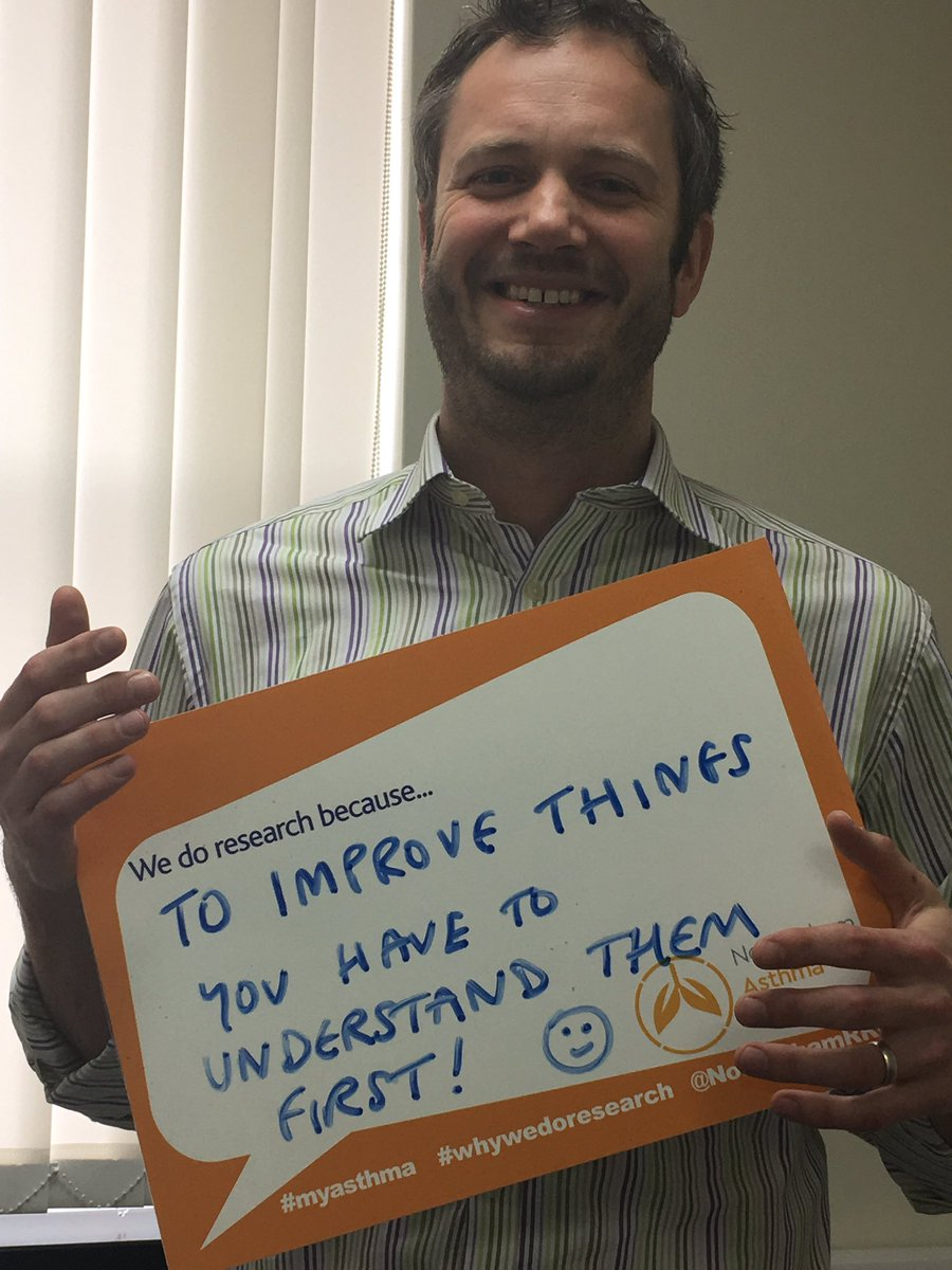 Dr Dominick Shaw #whywedoresearch