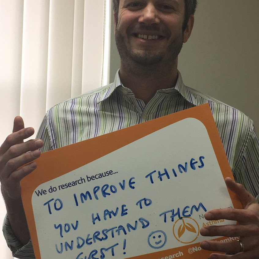 Clinical Research Principal Investigator Dr Dominic Shaw #IAmResearch