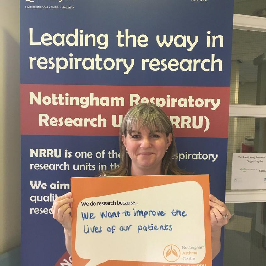 Research Nurse Liz #IamResearch