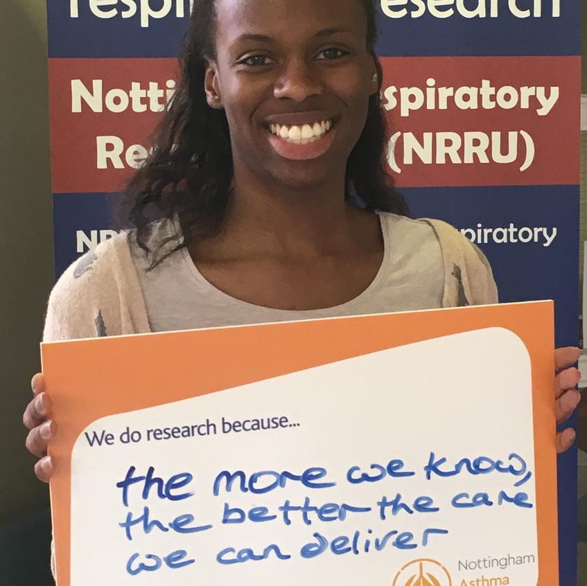 Research Fellow Ireti #IAmResearch