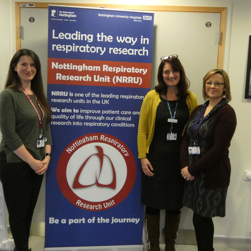 Low No Asthma Team; Clair, Karen and Nicky
