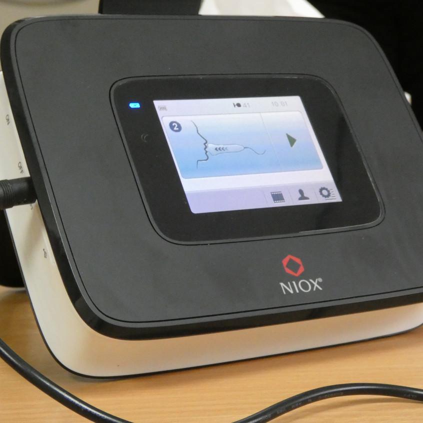 World Asthma Day 2018; Exhaled Nitric Oxide Machine