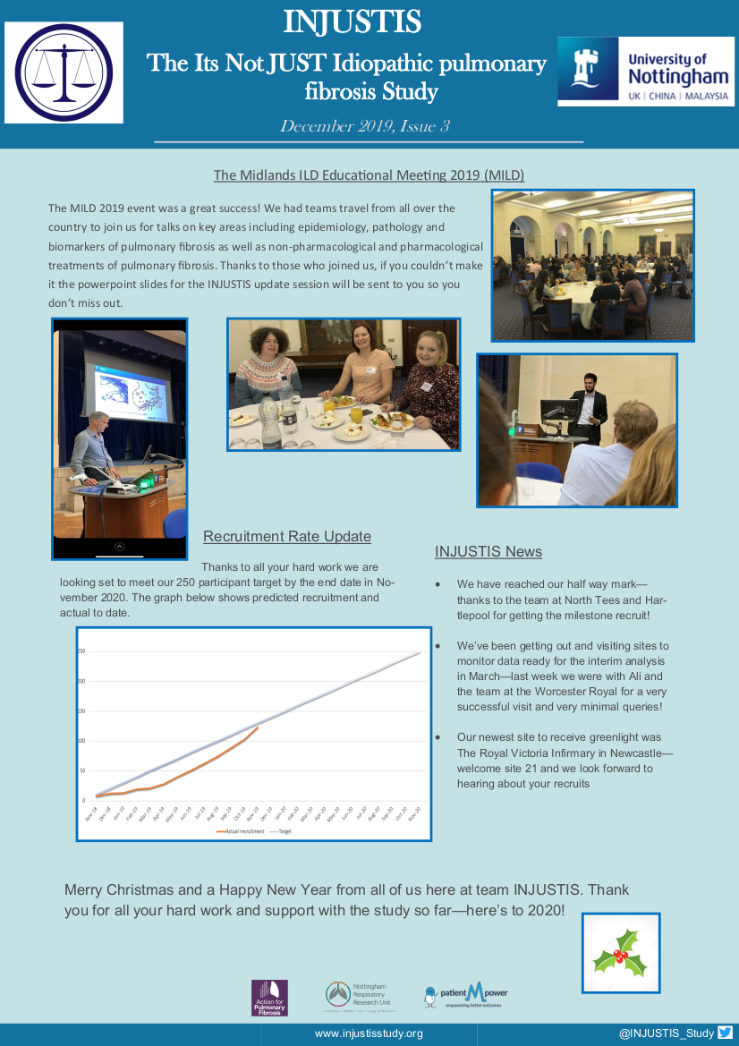 INJUSTIS Study Newsletter, Issue 3 December 2019