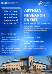 Asthma Research Event Clinical Sciences Building