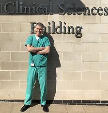 Professor Gisli Jenkins Nottingham Covid Research Group