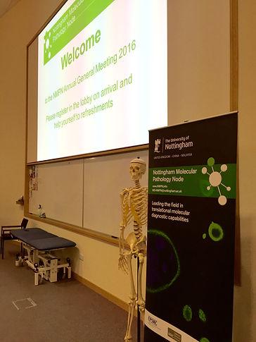 Nottingham Molecular Pathology Node Annuel General Meeting